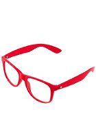 MasterDis Groove Shades Clear GStwo Sunglasses red