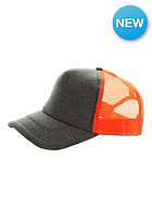 MasterDis Jersey Trucker Baseball Cap ht. charcoal/neonorange
