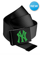 MasterDis MLB Premium Woven Belt single black kelly