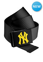 MasterDis MLB Premium Woven Belt single black neonyellow