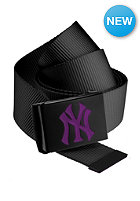 MasterDis MLB Premium Woven Belt single black purple