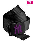 MasterDis MLB Premium Woven Belt single black purple