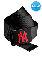 MasterDis MLB Premium Woven Belt single black red