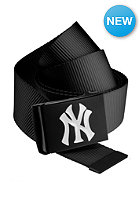 MasterDis MLB Premium Woven Belt single black white