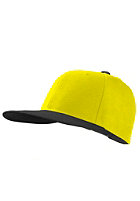 MasterDis Original Retro Blank Cap black/neon yellow