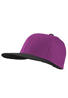 MasterDis Original Retro Blank Cap black/purple