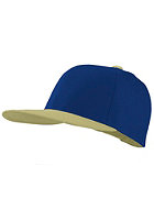 MasterDis Original Retro Blank Cap light grey/royal