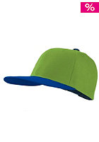 MasterDis Original Retro Blank Cap royal/lime
