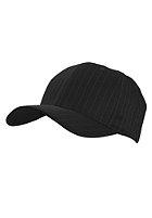 MasterDis Pinstripe Baseball Flexfit Cap black/white