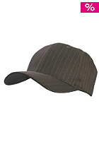 MasterDis Pinstripe Baseball Flexfit Cap brown/white