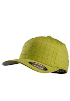 MasterDis Squarline Flexfit Cap lime/magenta