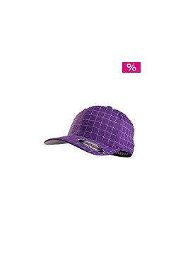 MasterDis Squarline Flexfit Cap purple/white