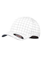 MasterDis Squarline Flexfit Cap white/dark navy