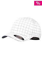 MasterDis Squarline Flexfit Cap white/dark navy