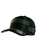 MasterDis Tartan Plaid Flexfit Cap black/green