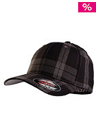 MasterDis Tartan Plaid Flexfit Cap black/grey
