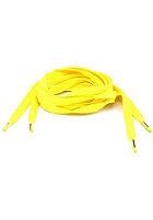 MasterDis Tube Laces 140cm neon yellow