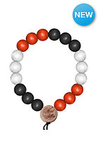 MasterDis Wood Fellas Deluxe Pearl Bracelet black/red/white