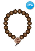 MasterDis Wood Fellas Deluxe Pearl Bracelet brown