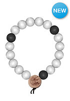 MasterDis Wood Fellas Deluxe Pearl Bracelet white/black