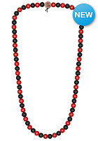 MasterDis Wood Fellas Deluxe Pearl Necklace black/red