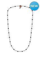 MasterDis Wood Fellas Deluxe Pearl Necklace white/black