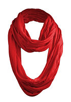 MasterDis Wrinkle loop scarf red