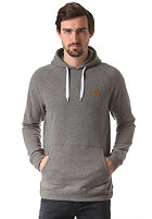MAZINE Basic Hooded Sweat dark grey mel.