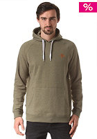 MAZINE Basic Hooded Sweat olive mel.