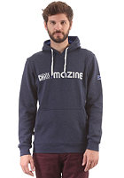 MAZINE Basic Printed Hooded Sweat peacoat mel.