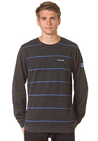 MAZINE Basic Striped Longsleeve black mel.