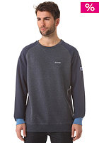 MAZINE Basic Sweatshirt navy / navy melange