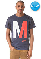 MAZINE Capitol S/S T-Shirt navy heather