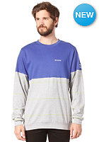 MAZINE Charlie L/S T-Shirt mazineblue / light grey mel.
