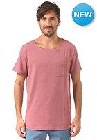 MAZINE Cheste Pocket S/S T-Shirt marsala mel.