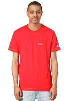 MAZINE Clark S/S T-Shirt poppy