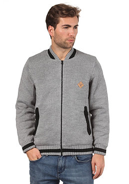MAZINE Course Jacket mid grey melange