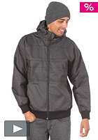 MAZINE Deep Carter Jacket light black/black