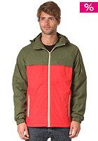 MAZINE Deep Splitter Jacket woody / red