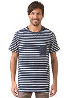MAZINE Dijon Pocket navy striped