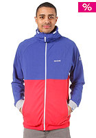 MAZINE Fade Hooded Sweat mazineblue / poppy
