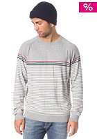 MAZINE Freddy2 Woolsweat light grey melange/light grey