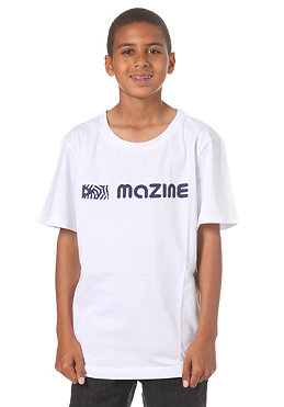 MAZINE KIDS/ H S/S T-Shirt white/mazine blue