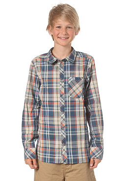 MAZINE KIDS/ Mauri L/S Shirt blue multi checked