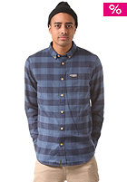 MAZINE Koloa L/S Shirt navy / dark denim checked
