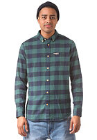 MAZINE Koloa L/S Shirt navy / fir tree checked