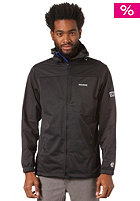 MAZINE Miles Hooded Zip Windbreaker Jacket black 131