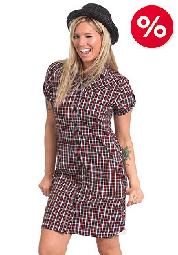 MAZINE Nicki Dress black/red checked