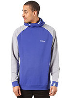 MAZINE Passkall Hooded Sweat mazineblue / mid grey mel.
