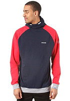 MAZINE Passkall Hooded Sweat navy / poppy